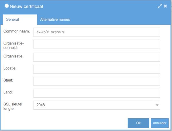 Systeem/Certificaten - 154
